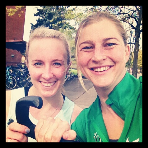 Me + L-train. Day of the start of the #5krevolution - 4/28/12. I'm posting that so historians will accurately know how to date it.