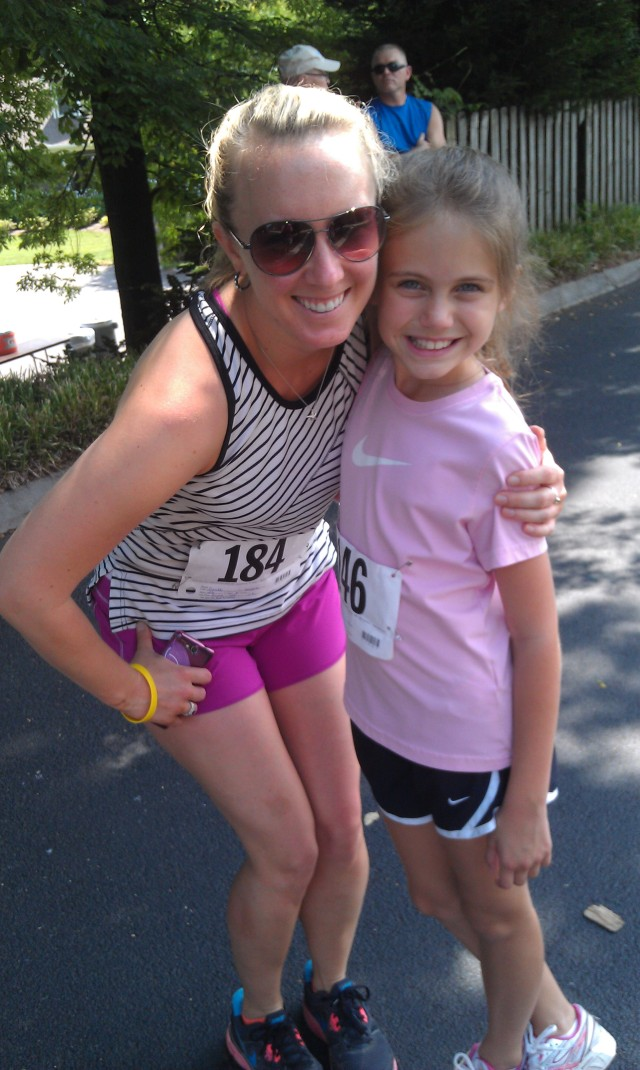 My little running buddy, CGT.