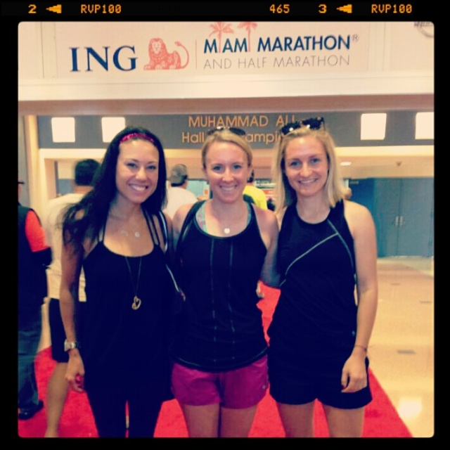 I owe my marathon love to these girls.