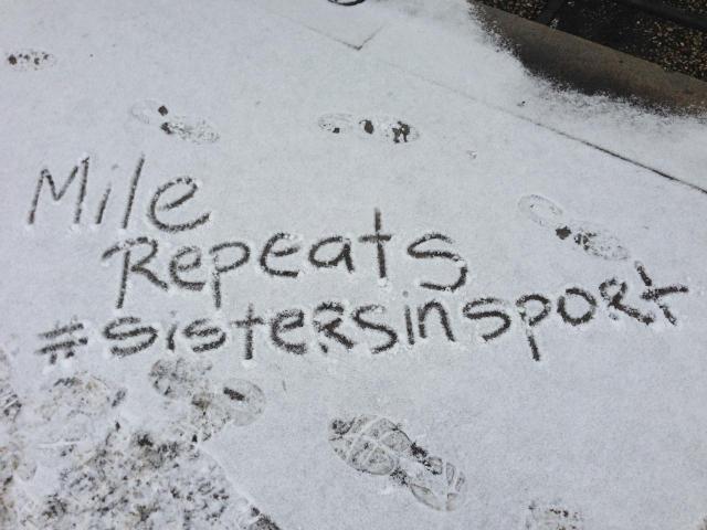 Snow Art courtesy of Gia