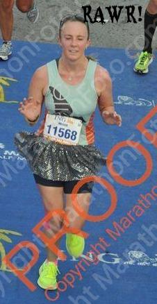 Me running.