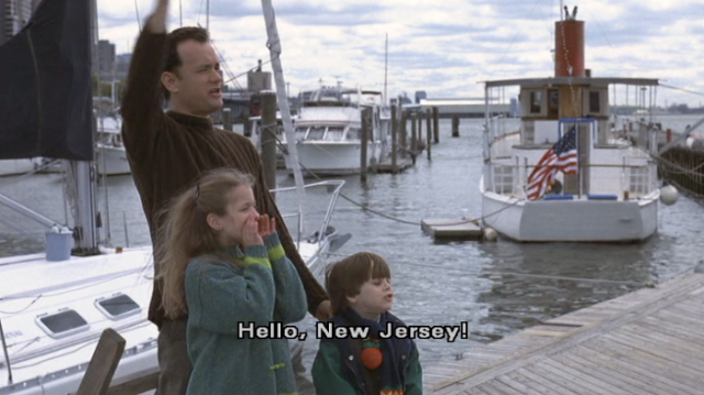 "Seeing NJ across the Hudson always reminds me of this scene from ""You've Got Mail."""