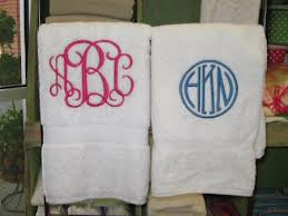 If its not moving, monogram it.