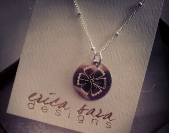 """My Erica Sara for Believe I Am """"Strong"""" Necklace"""
