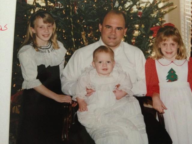 Harrison's Christening, Christmas 1994